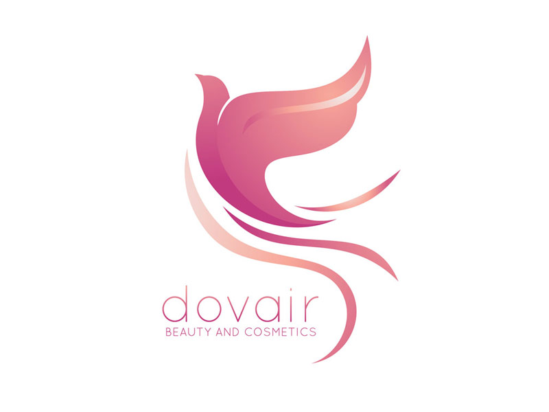 Dovair Beauty and Cosmetics Branding Project