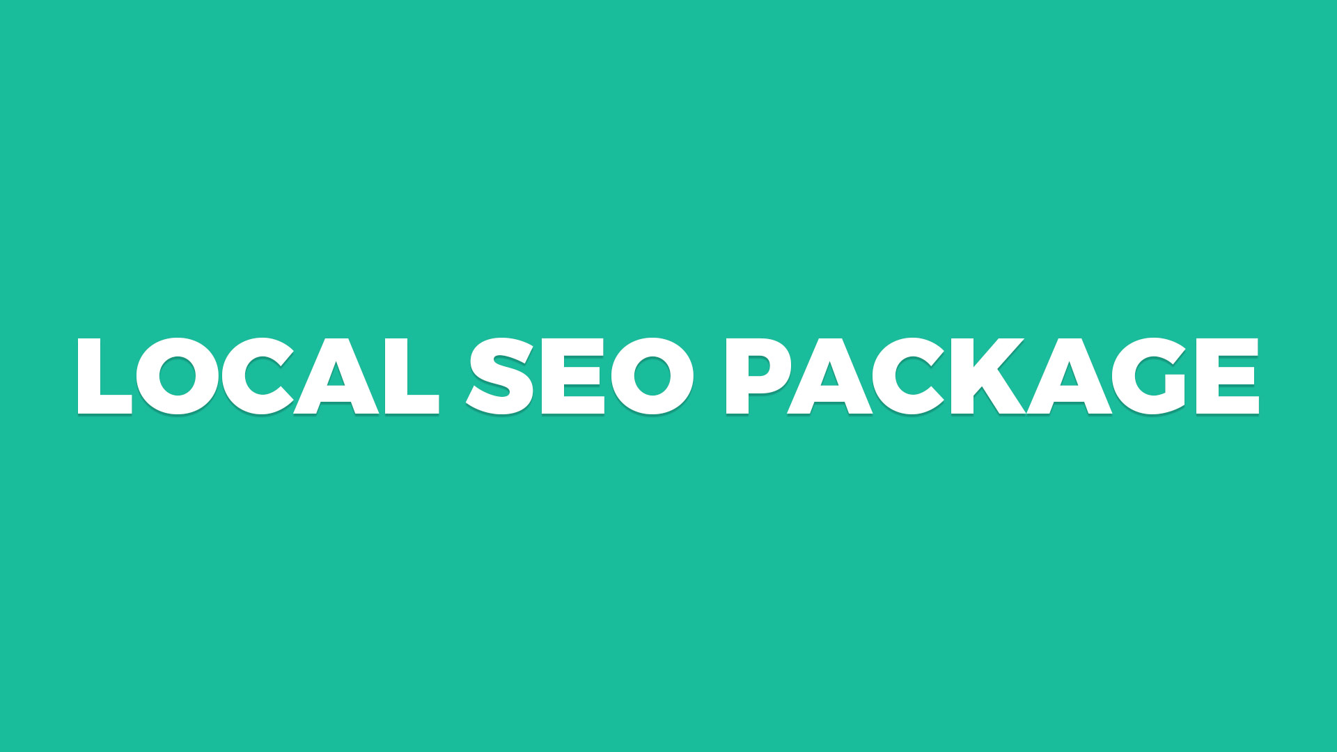 SEO Packages for Small Businesses